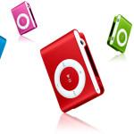 iPod shuffleを購入しました(=゚ω゚)ノ