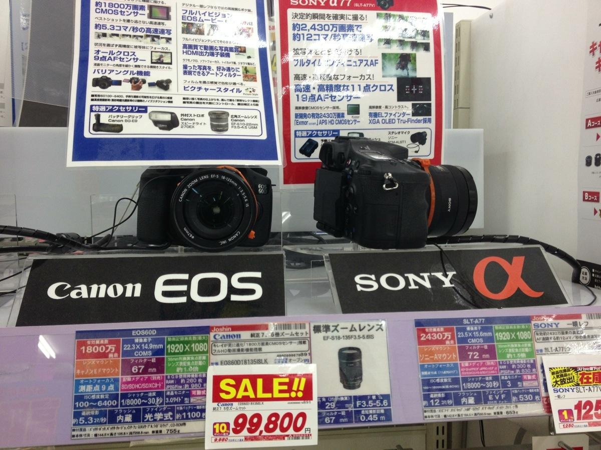 EOS60D α99