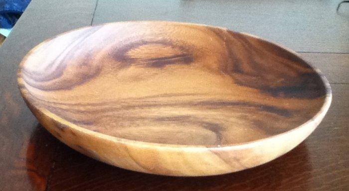 無印良品の木の皿