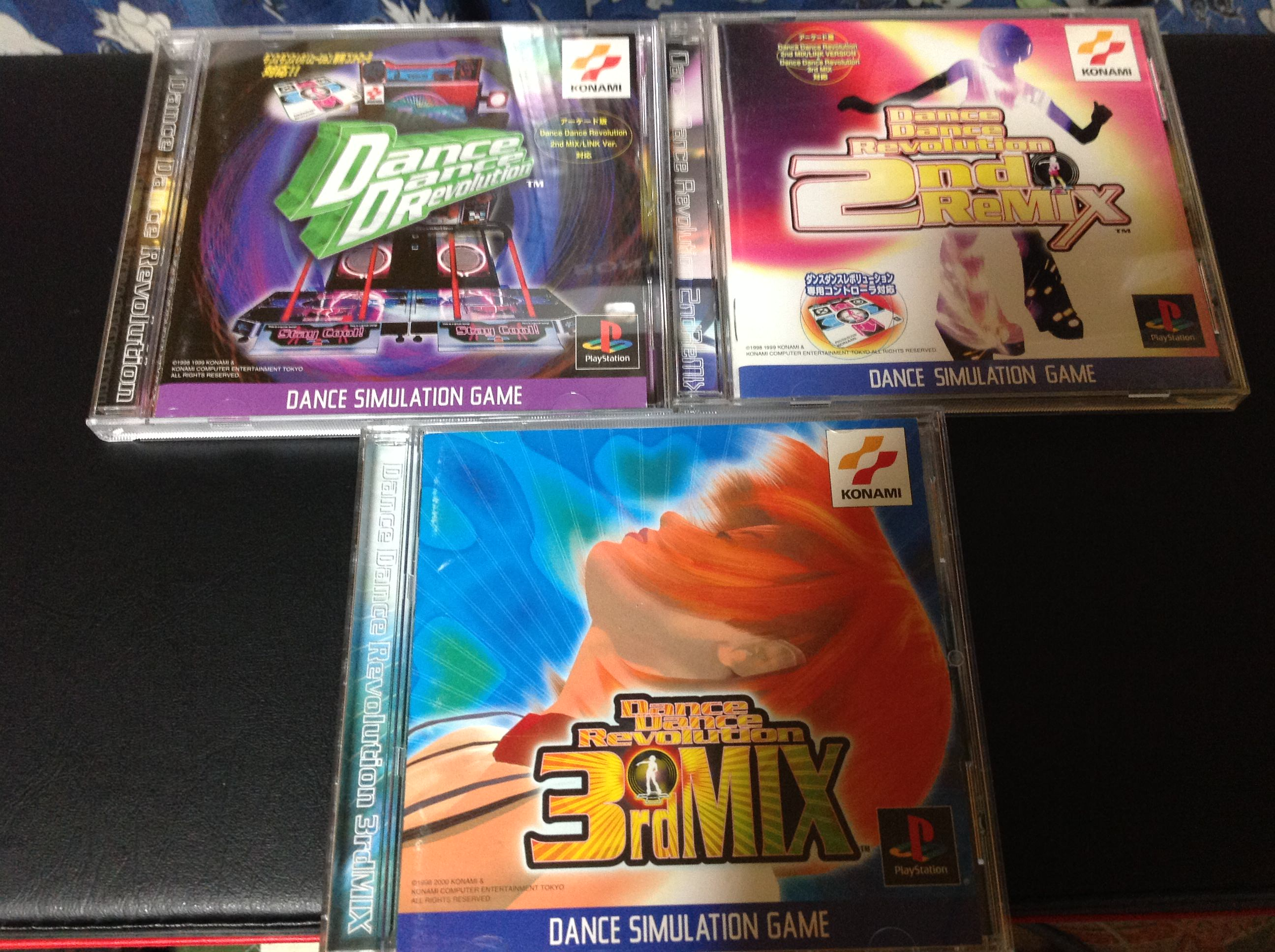 DDR(PS1)1st 2nd 3rd