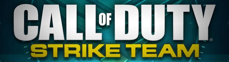 coll of duty strike team新作発売されました