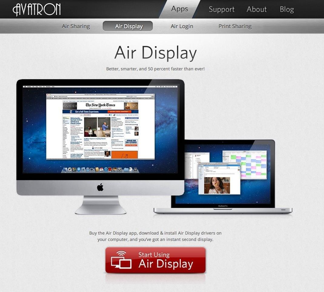 iPhoneやiPadをPCのサブディスプレイにするアプリ「Air Display2」を試してみた