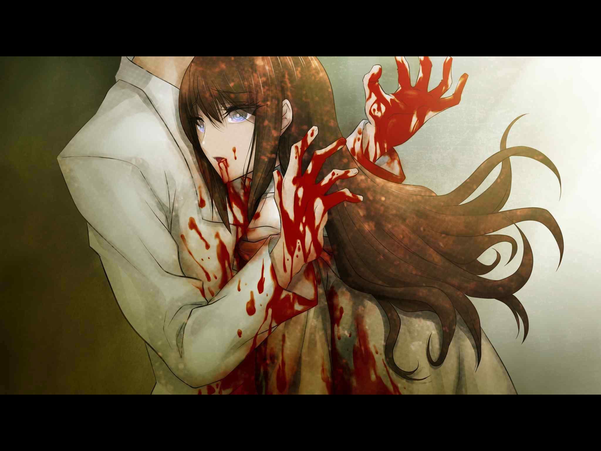 クリスを刺し殺してしまう岡部倫太郎