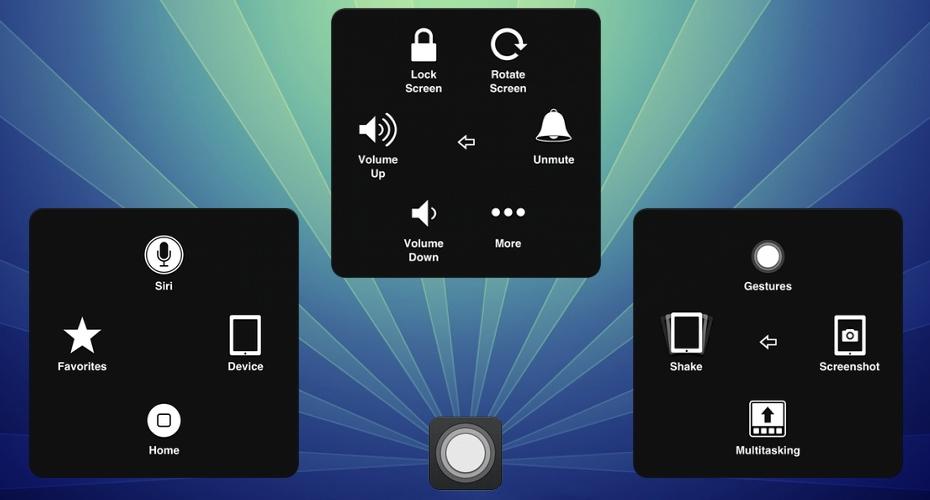 電源ボタン、スリープボタンが陥没したので、AssistiveTouchというiOSの補助機能を使って代用します
