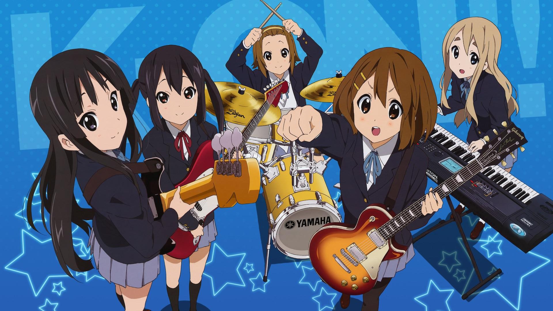 大人気アニメ「けいおん!」の1期の壁紙