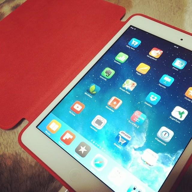 iPadミニとSmartCase