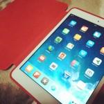 iPad mini 第2世代ではなく、第1世代型の64GBホワイトを購入しました!