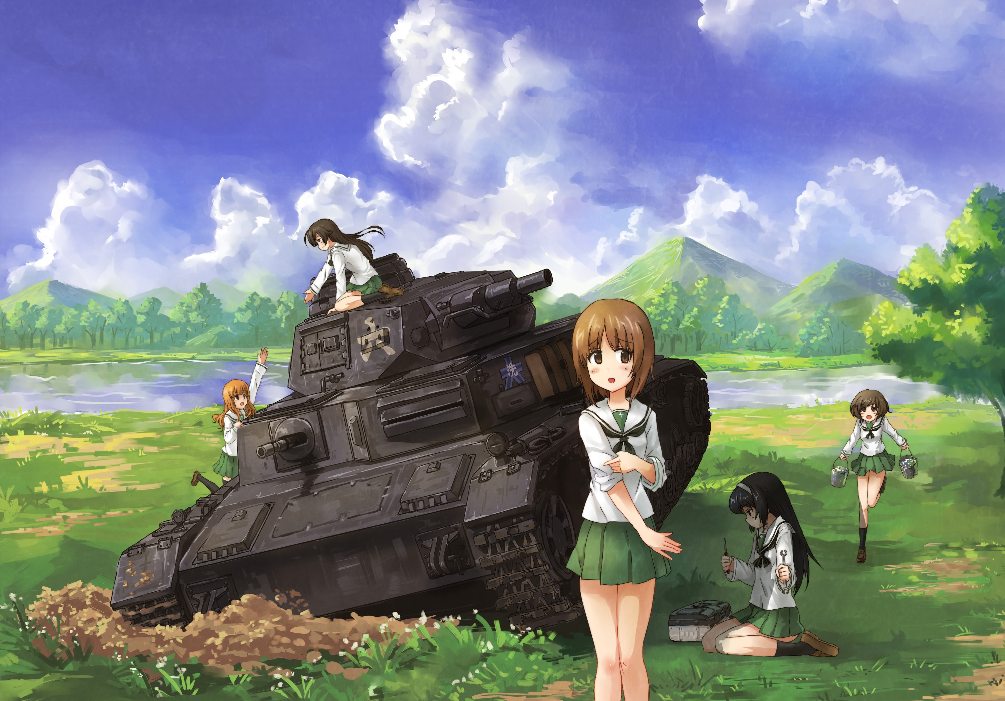 ガールズ&パンツァー 戦車