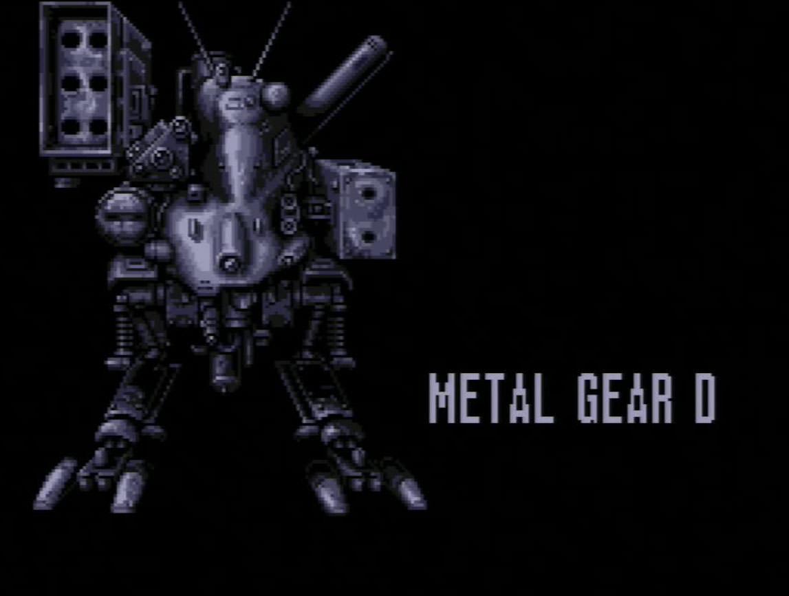 Metal Gear D(メタルギアD)