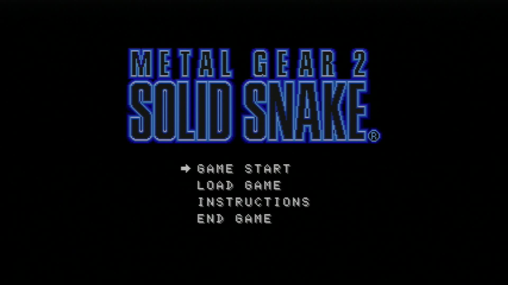 Metal Gear2 Solid Snake