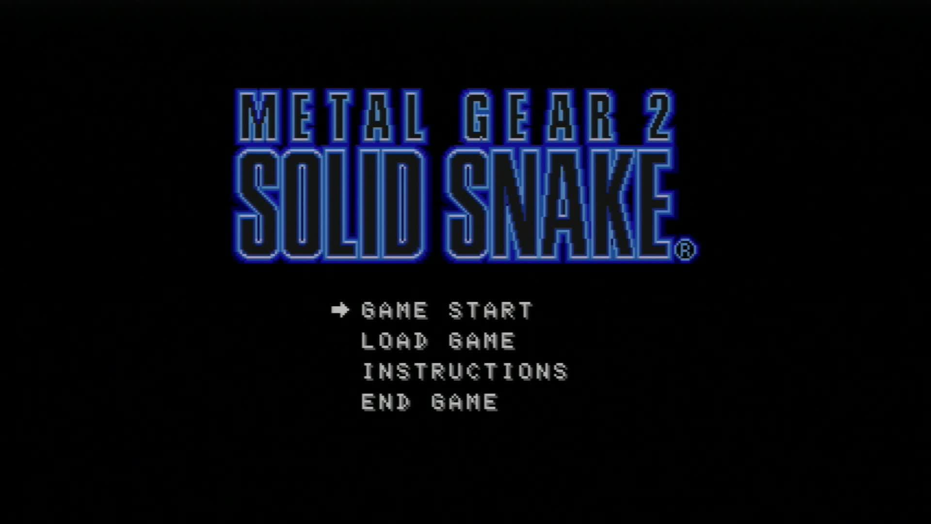 Metal Gear2 Solid Snake