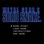 MetalGear2 SOLID SNAKE無事クリア!感想レビューその他諸々