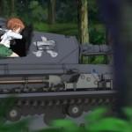 ガールズ&パンツァー 第2話「戦車、乗ります!」感想、レビュー、まとめ
