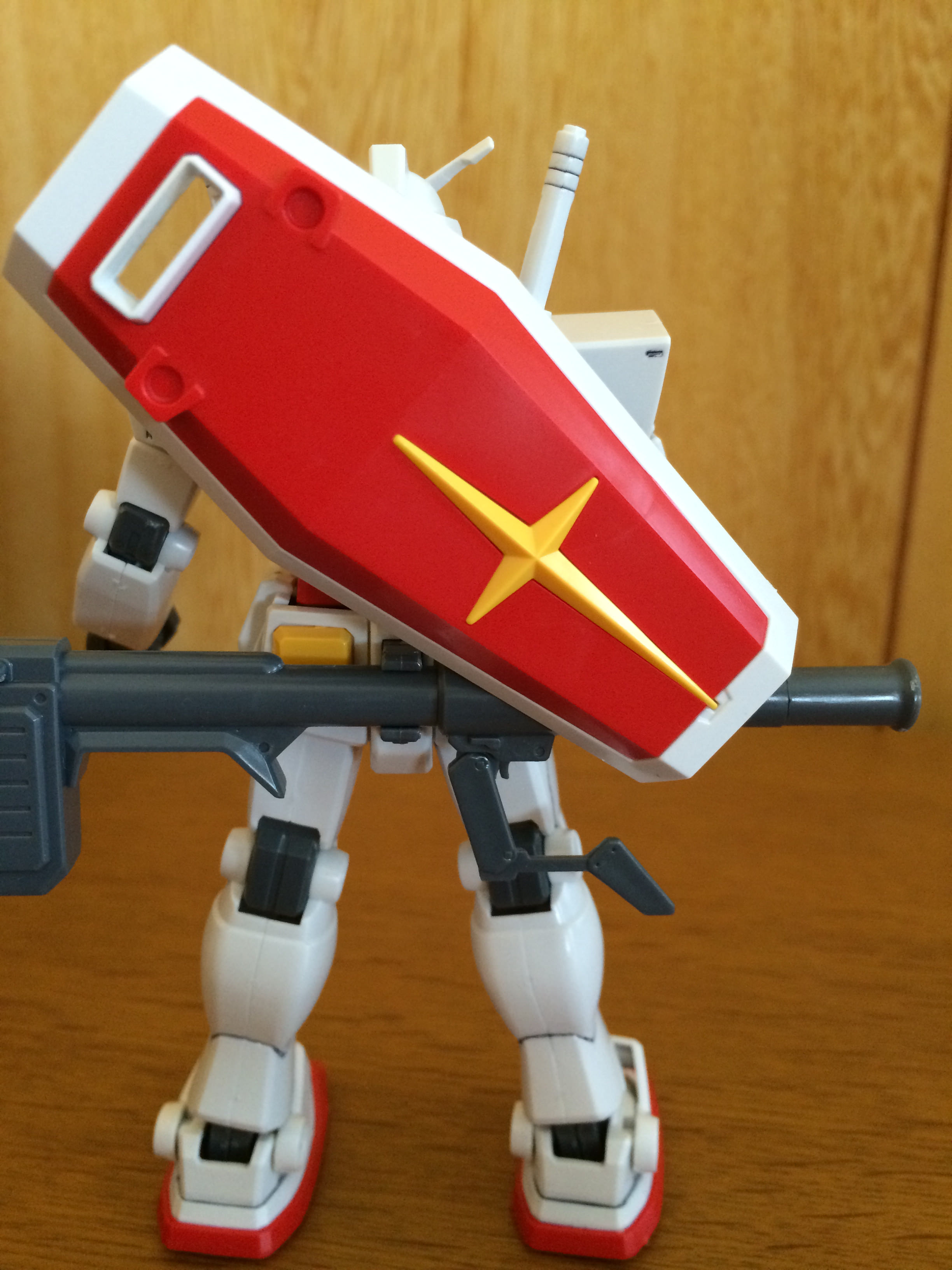 墨入れ RX78-2ガンダム 背後