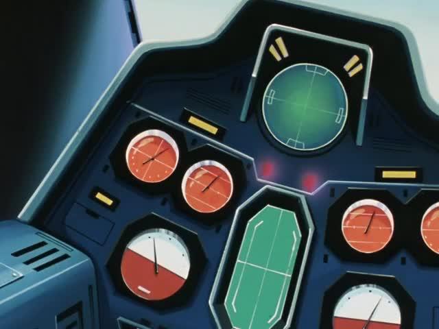 RX78-2ガンダム コックピット