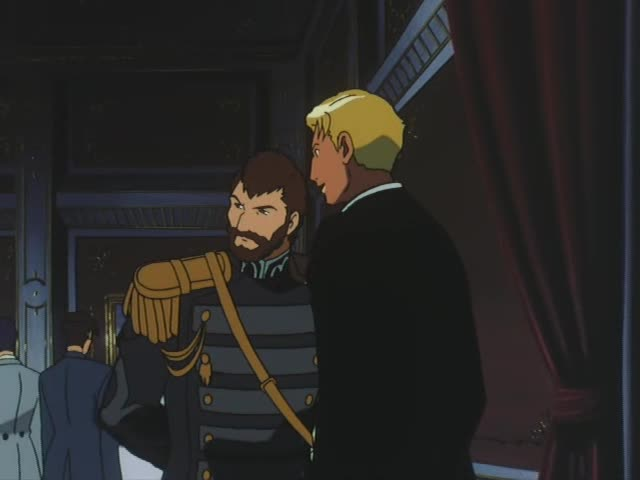 ミハエル大佐とグエン卿