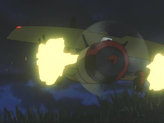 戦闘機がウォドムに攻撃