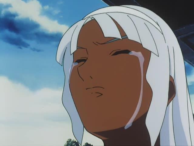 涙するロラン