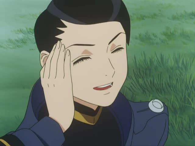 笑顔が素敵なポゥ少尉