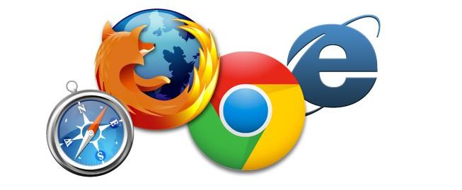 Firefox Safari Chrome IE