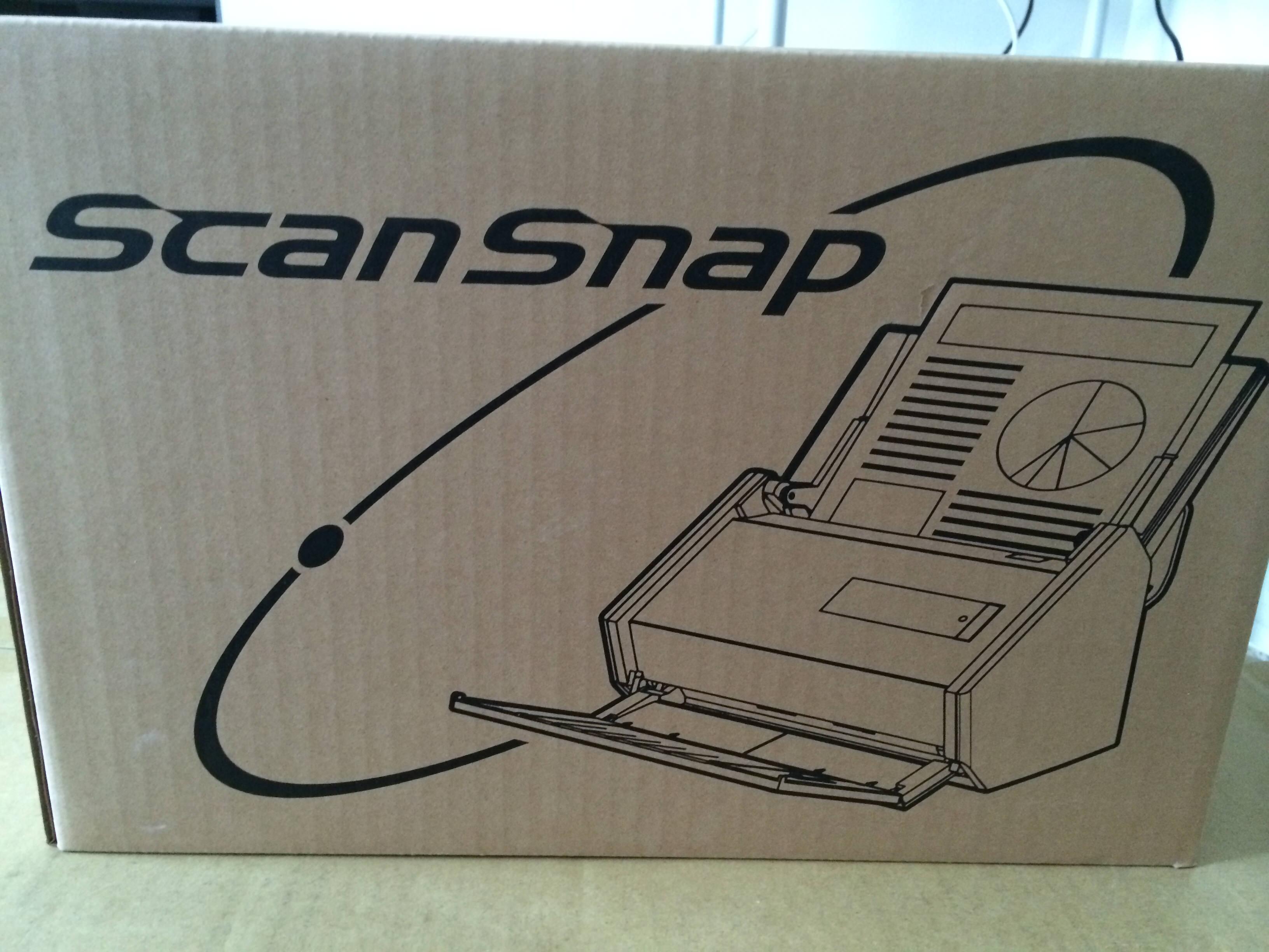 ScanSnap ix500 外箱