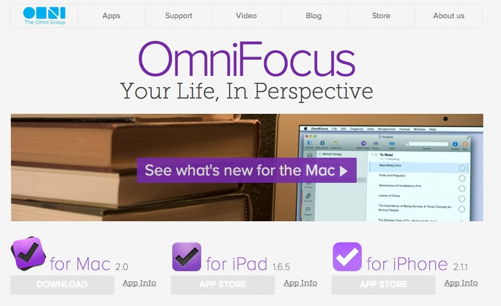 OmniFocus2 for mac リリース