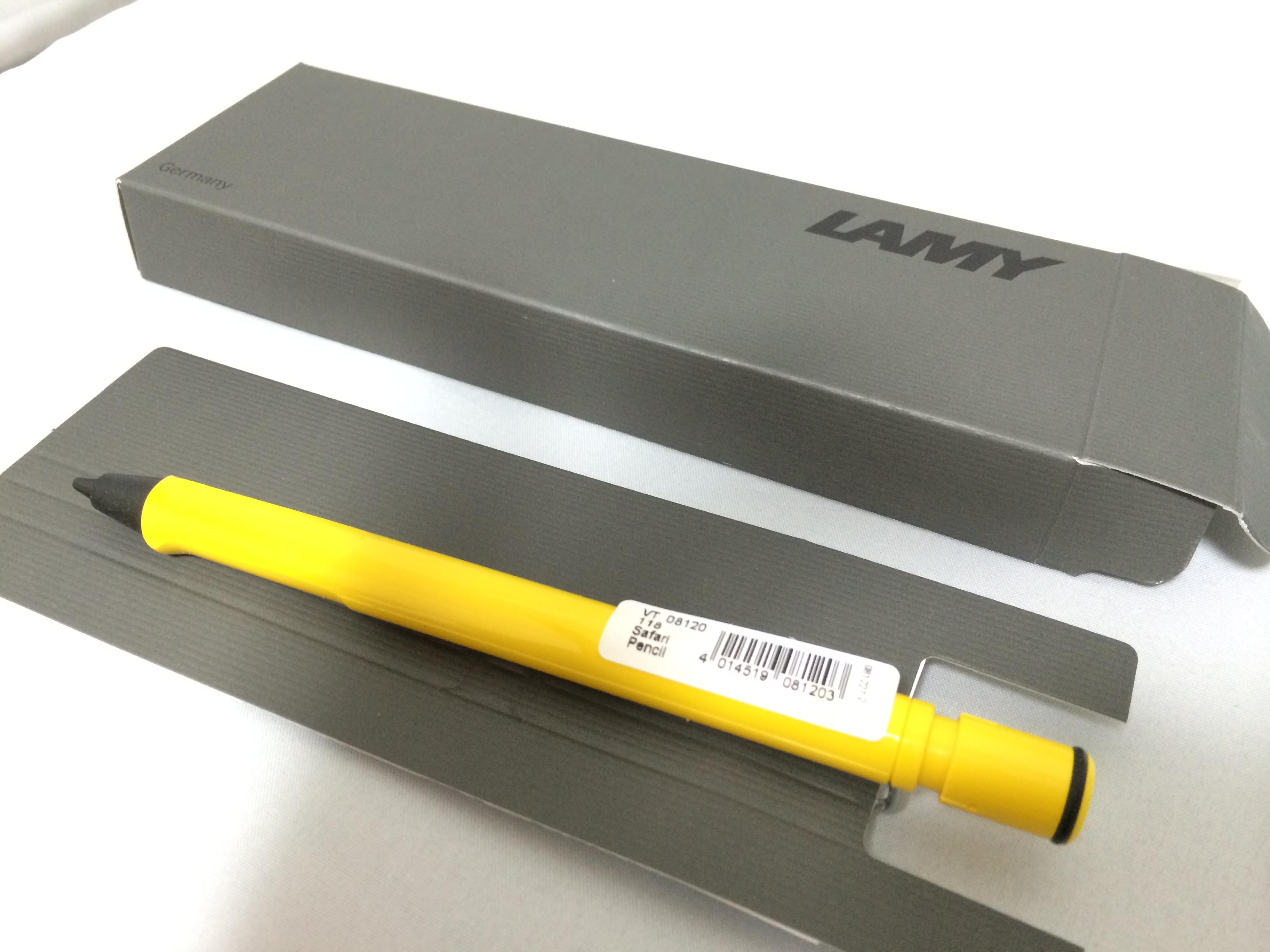 lamy safari pencil 開封