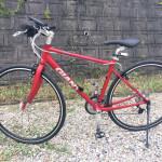 クロスバイク GIANT ESCAPE AIR 2014モデル購入手続き完了しました。