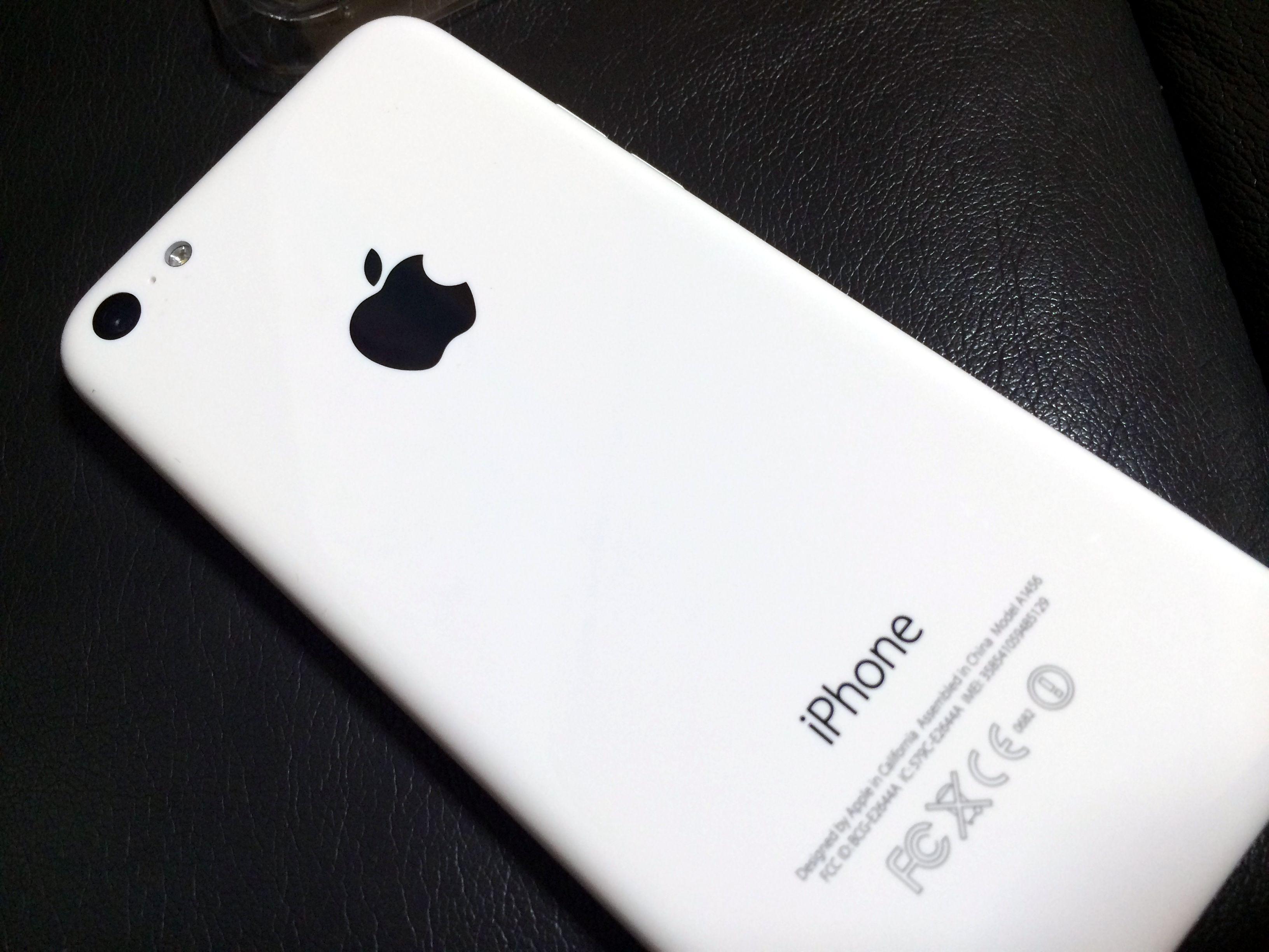 iPhone 5c sim free 本体