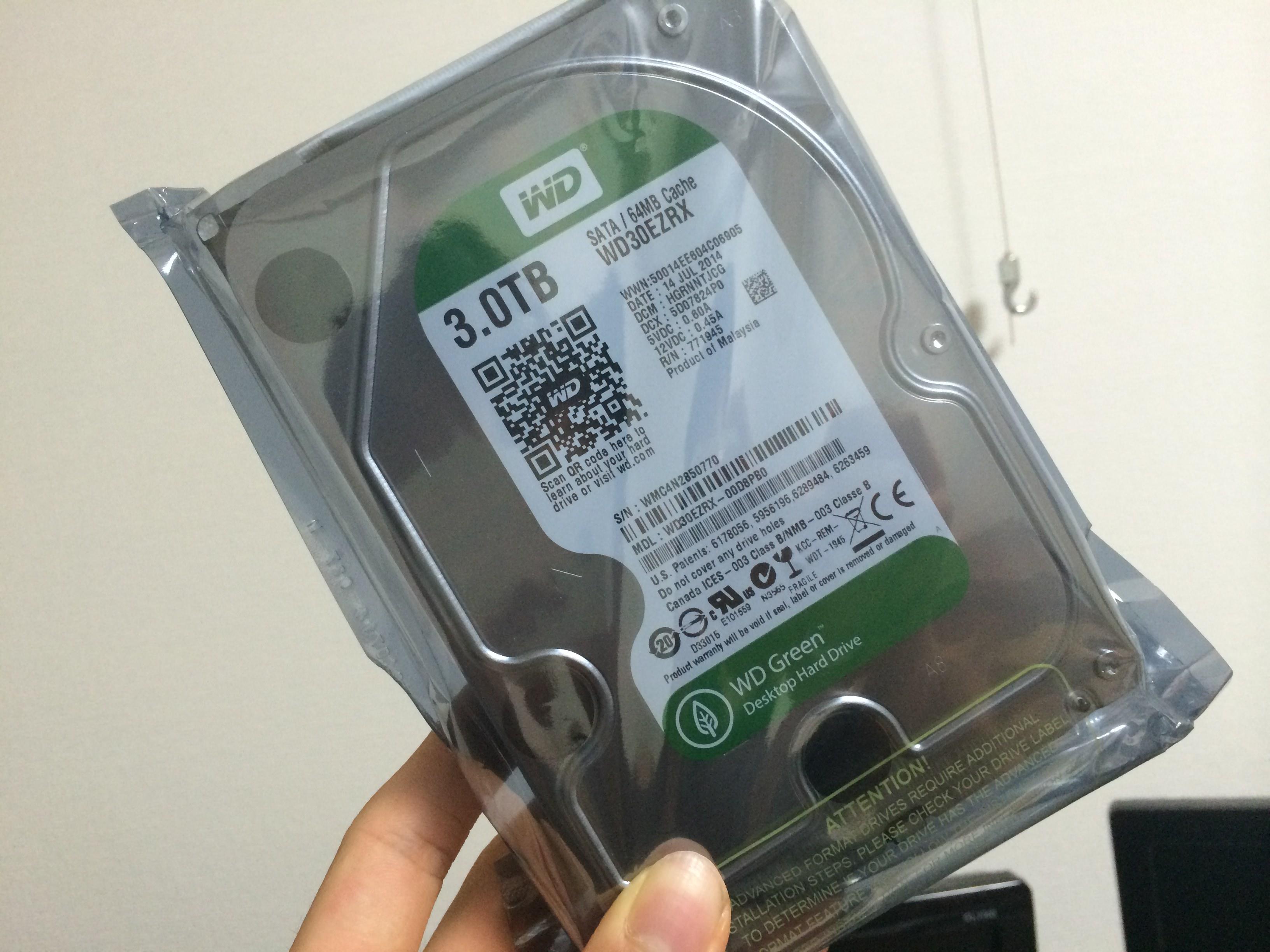 WD Green 3.5inch 3.0TB