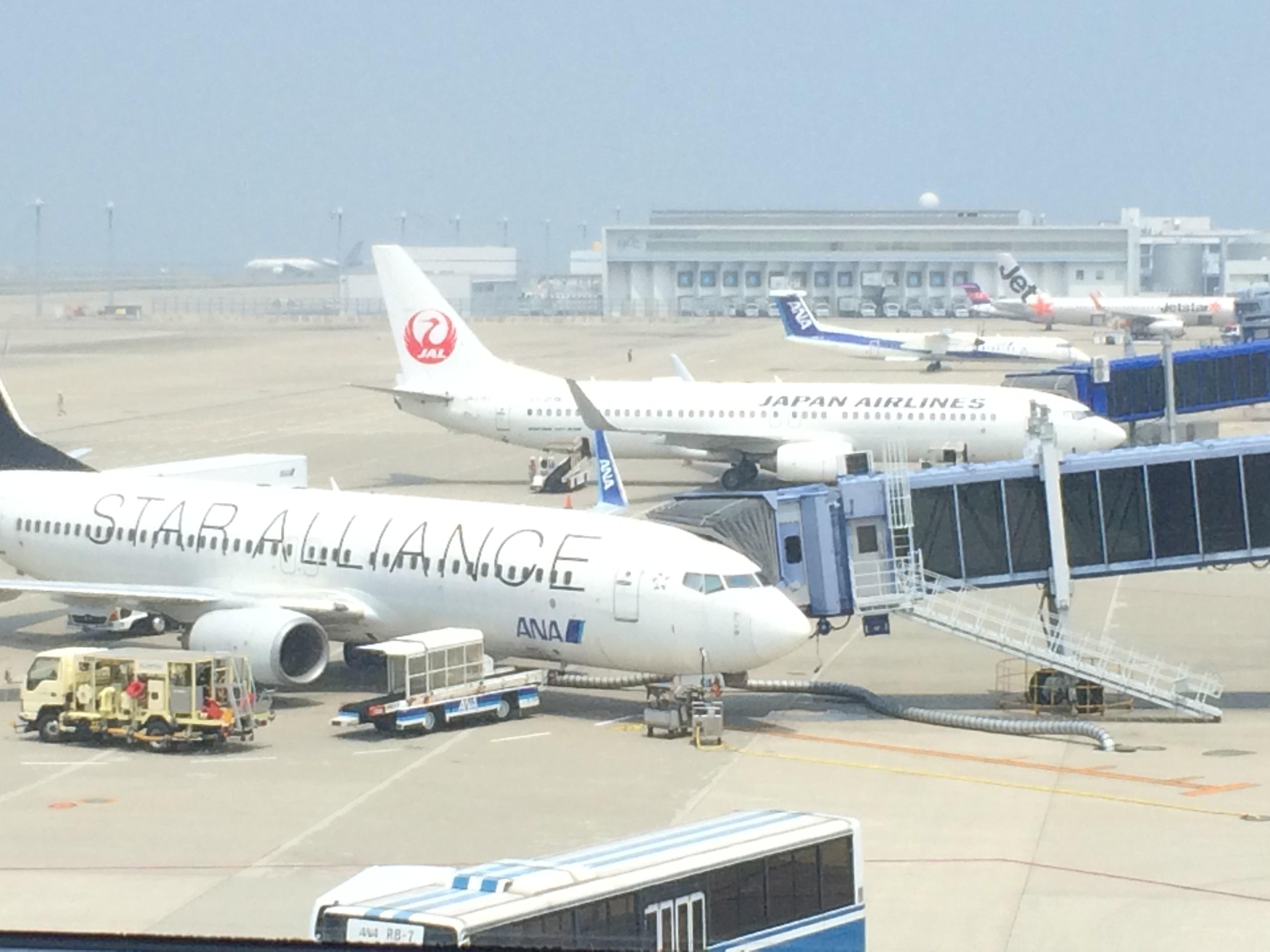 ANA JAL 旅客機