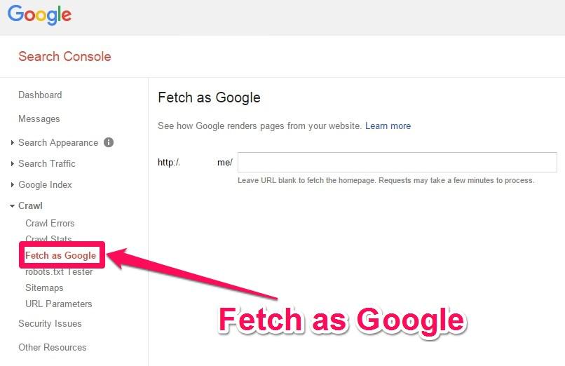 Google Search Consoleのスクリーンショットです。