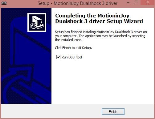 motioninjoyのインストール完了のスクリーンショットです。