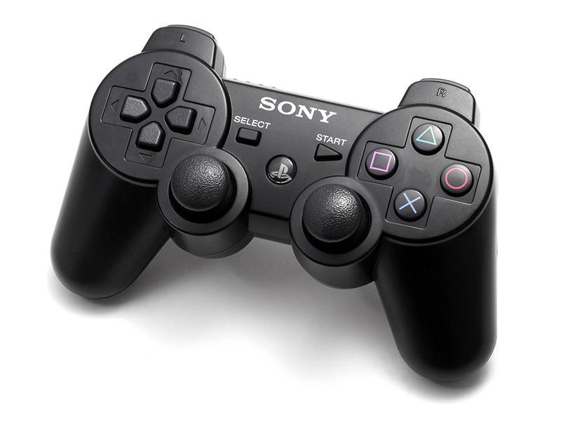 PS3のコントローラー(DUALSHOCK3)の画像です。