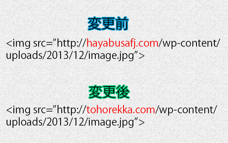 img src上のアドレス部分の変更箇所の画像です。