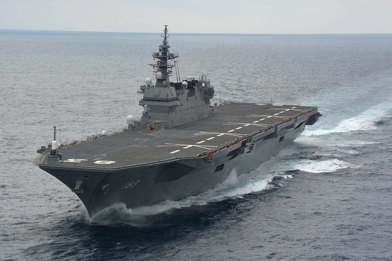 """海上自衛隊:ギャラリー:護衛艦(艦艇):いずも型 (DDH""""IZUMO""""Class)"""