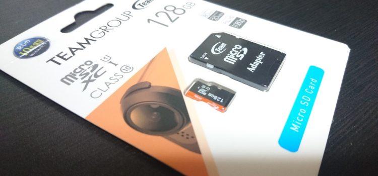 MicroSDカードが故障したので保証を利用して新品と交換
