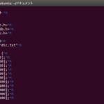 テキストファイルで^Mが表示される場合の対処法