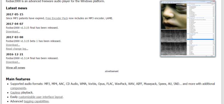 【Windows】foobar2000のバックアップと復元方法