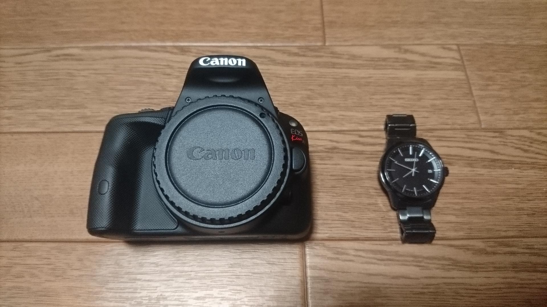 Canon EOS Kiss X7 大きさ比較