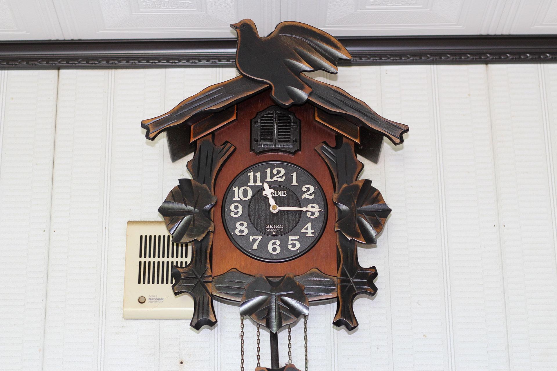 自宅の時計