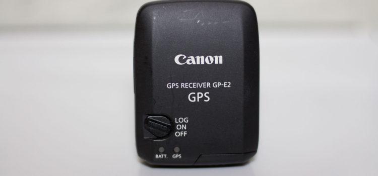 Canon GPS Receiver GP-E2の購入とレビュー