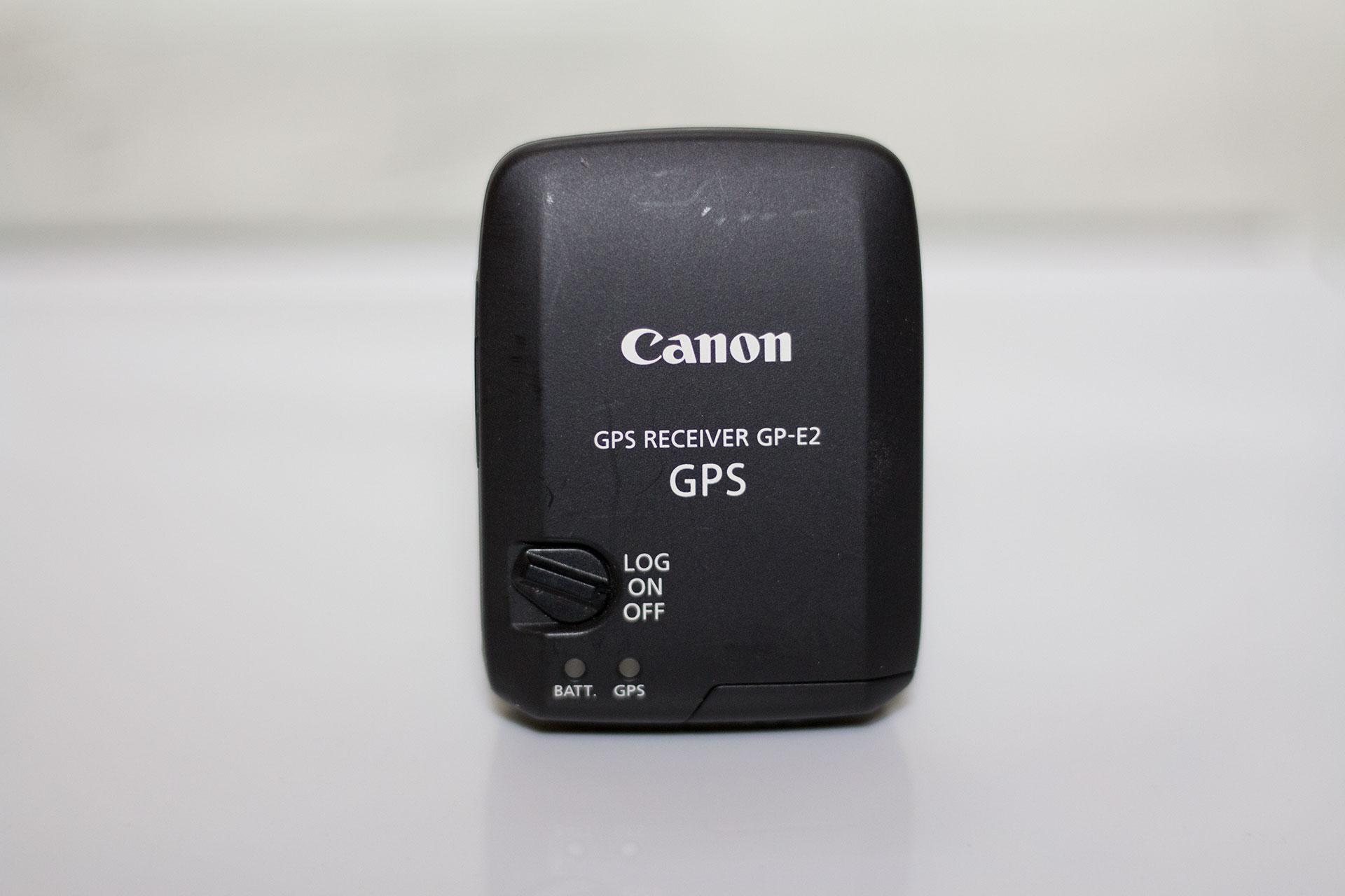 Canon GPS Receiver GP-E2の本体