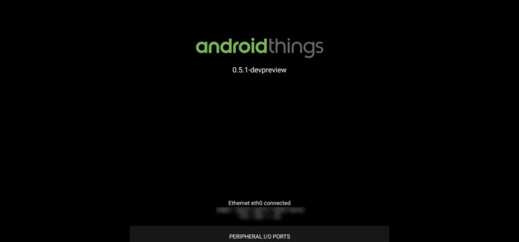 Android ThingsにAndroidアプリをインストールする