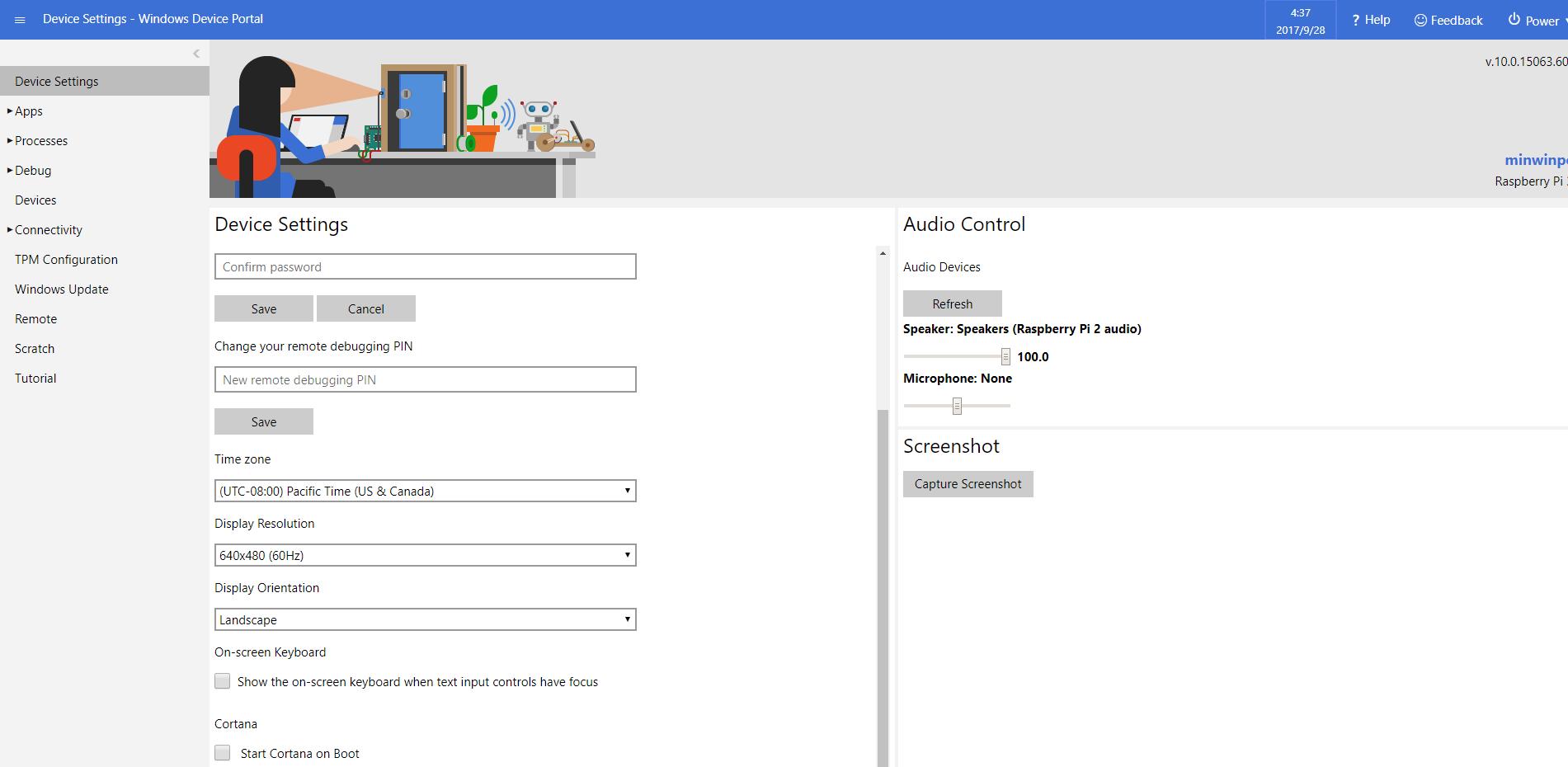 Windows Device Portal
