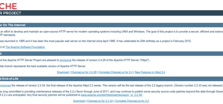 【Linux】Ubuntu16.04にApache2をインストール・設定する