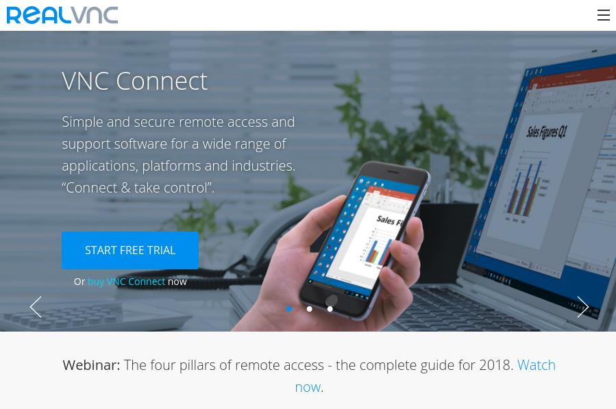 REALVNC公式ウェブ