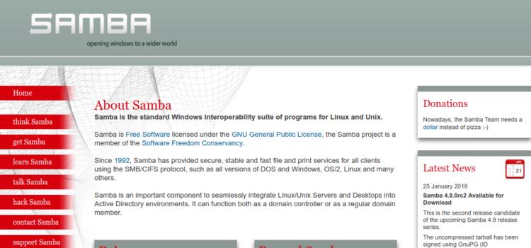 【Linux】UbuntuでSmabaの共有ディレクトリをマウントする