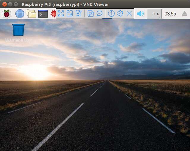VNC ViewerでRaspberry Piに接続