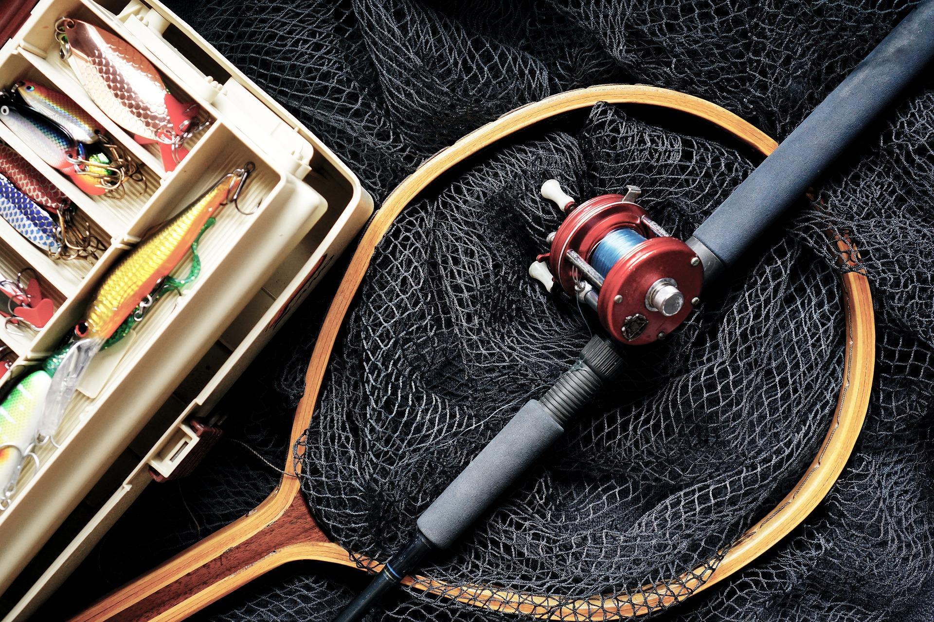 釣り道具(タックル)